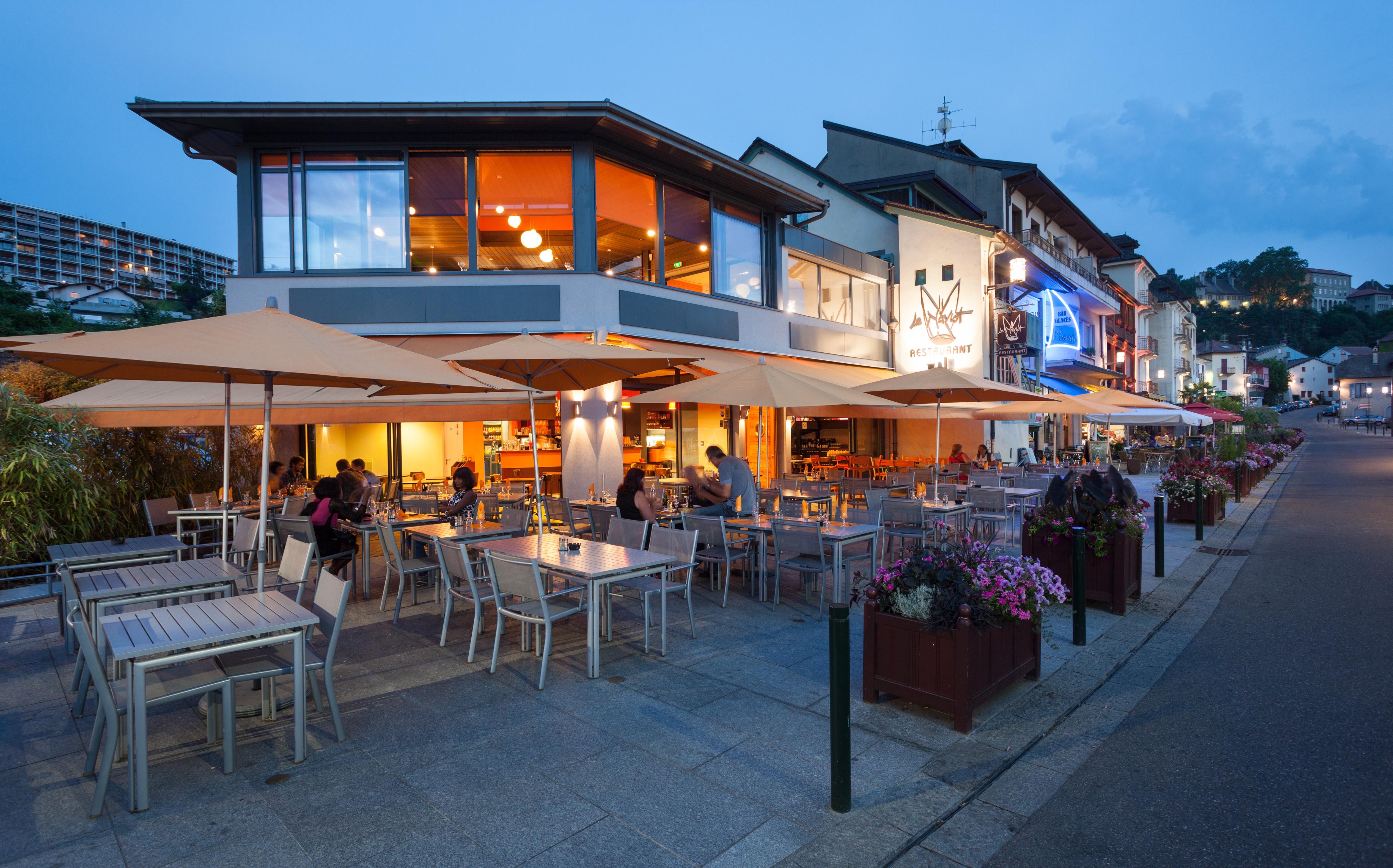 Le naviot thonon les bains ch teau de ripaille - Restaurant port de thonon ...